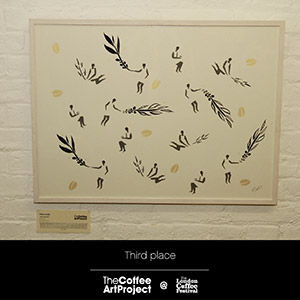 Interview with Claire Duffy, runner- up from the Coffee Art Project, London 2015